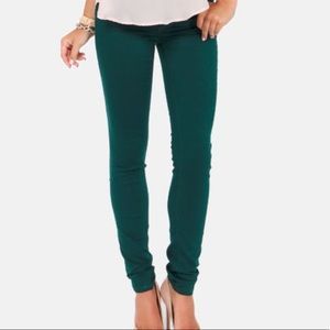 Lucky Brand Lolita Skinny Green Jeans